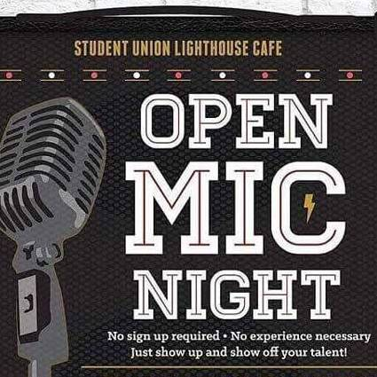 Open Mic Night Fall 2017